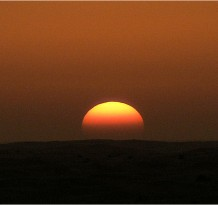 Sunset-in-the-desert